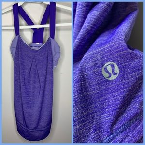 Lululemon Power Tank with Bra